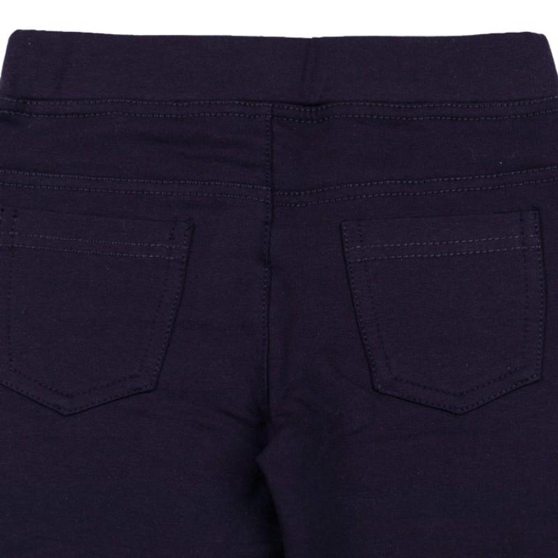 Клин-панталон момиче м.305 в тъмно синьо /122-164/ памук/ликра