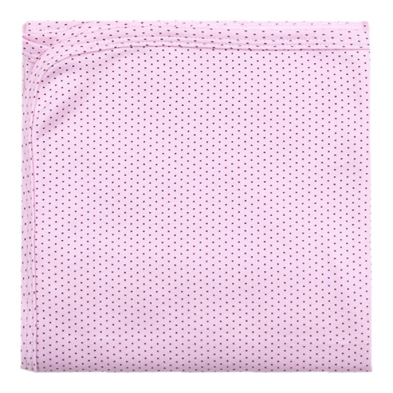 Пелена щампа Точици в розово -  80/90 - интерлог