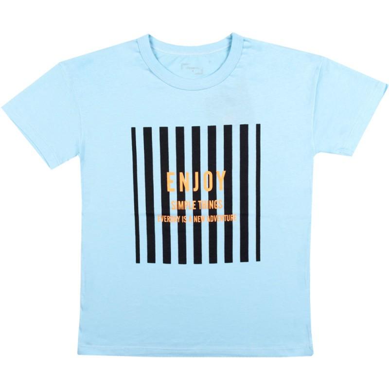 Тениска момче Enjoy /134-152/ в цвят светло синьо