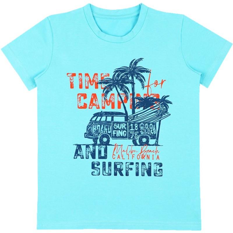 Тениска м.629 Сърф /86-116/ в светъл електрик