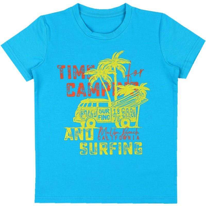 Тениска м.629 Сърф /86-116/ в тъмен електрик