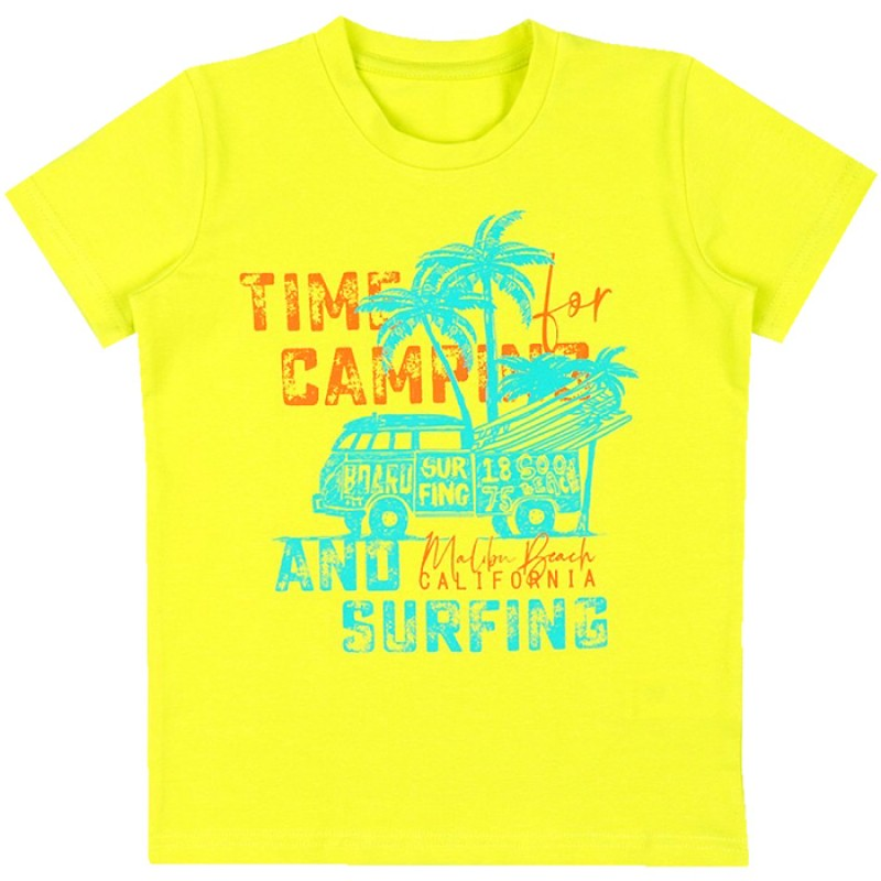 Тениска м.629 Сърф /86-116/ в жълто