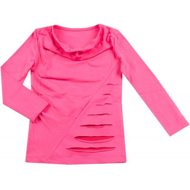 Блуза д.р. Момиче м.84  /92-122/ в бон.розово