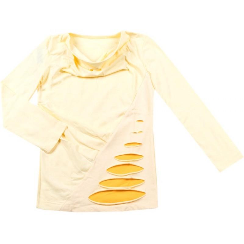 Блуза д.р. Момиче м.84  /98-122/ в жълто
