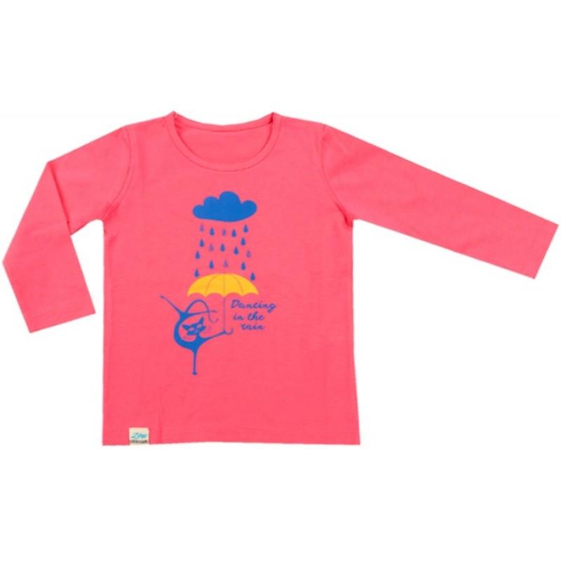 Блуза д.р. Dancing м.120 /68-92/ в бонб.розово