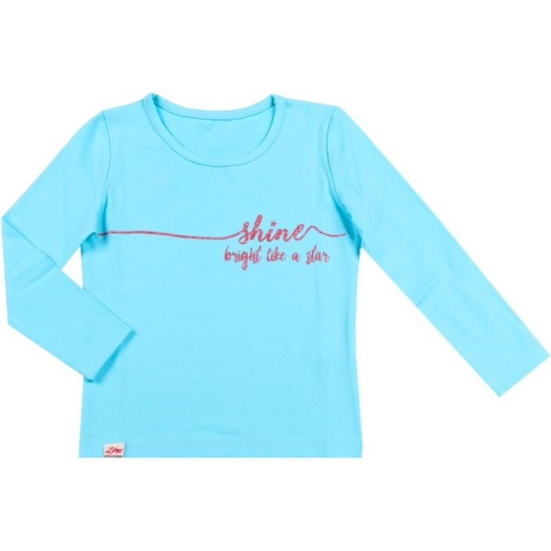 Блуза д.р. Shine м.142  /98-122/ в ел. синьо