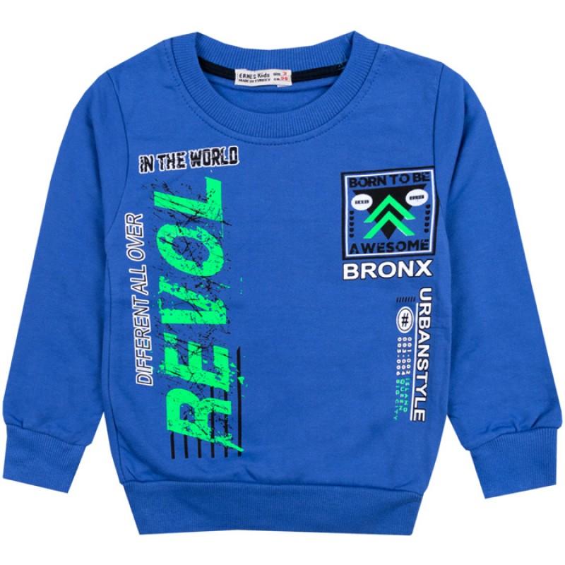 Блуза момче Bronx в синьо /92-116/ вата