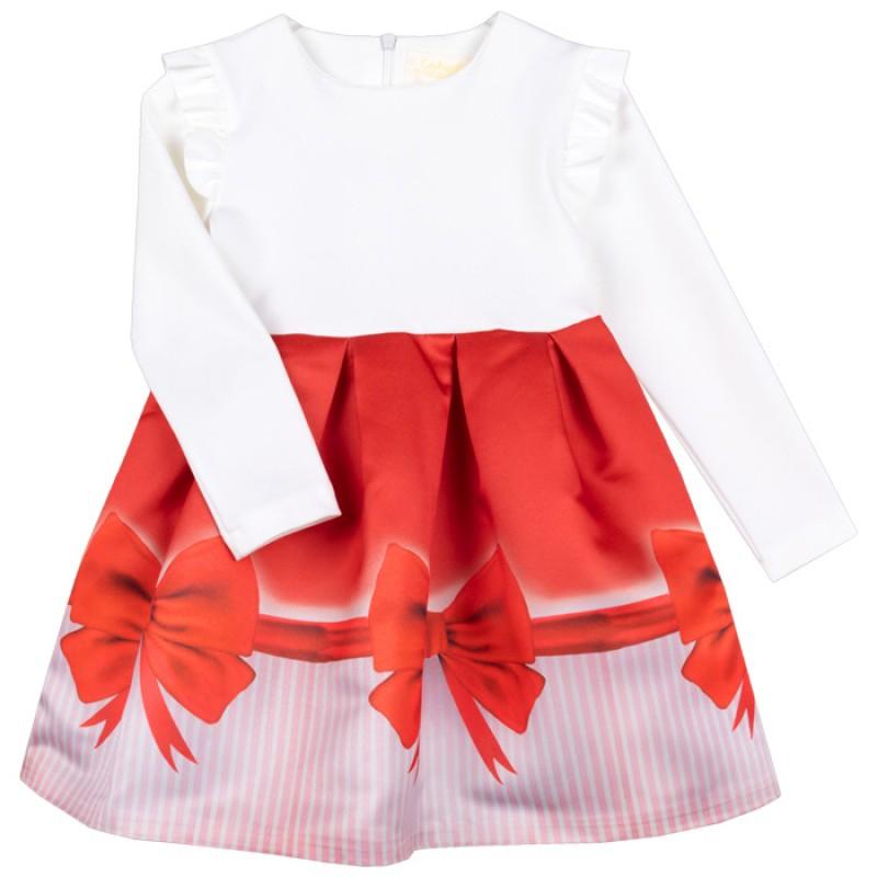 Рокля Коледна Панделка /80-128/ м.701 266